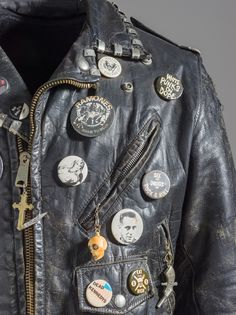 somethingtoseeorhear:  Punk Jacket, c. 1978–83, Los Angeles County Museum of Art, Costume Council Fund