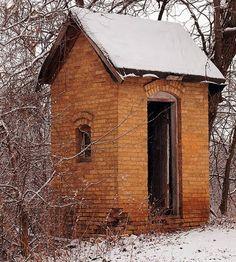 farm outhouse