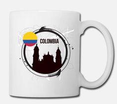 Coole Artikel für alle Kolumbianer/innen und kolumbienfans. Von T-Shirts über Caps bis hin zu Tassen und Taschen gibt es alles bei uns im Shop #T-shirt #cap #colombia #kolumbien #travel #salento #medellin salento #cartagena #reisen #südamerika #southamerica #tasse