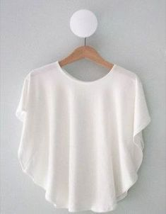 Gratis Damen Schnittmuster - Circle Knit Shirt Tutorial