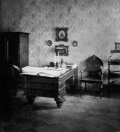 "relishinrussia:  "" Dostoyevsky's Study in St Petersburg.  """