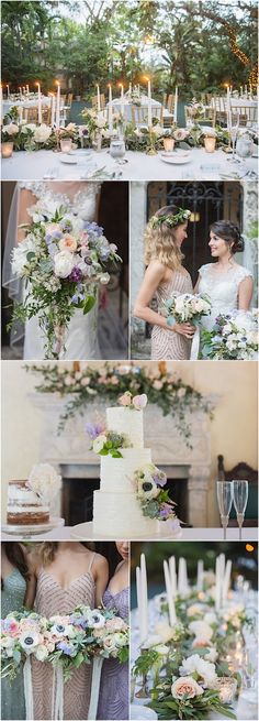 We certainly have a soft spot for soft pastels and this Miami wedding is fulfilling all of our wedding fantasies! See the photos by Vitalic Photo. Miami Wedding, Mod Wedding, Wedding Sets, Wedding Reception, Pastel Wedding Colors, Wedding Flowers, Perfect Wedding, Dream Wedding, Wedding Photo Inspiration