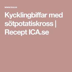 Kycklingbiffar med sötpotatiskross | Recept ICA.se