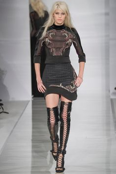 Antonio Berardi LFW autumn-winter 2014/2015