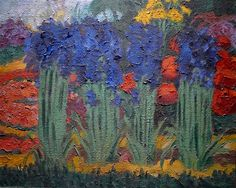 "Emil Nolde: ""Flower Garden (O)"" 1922"