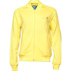 Adidas Originals Pharrell Williams Supercolour Track Top Bright Yellow in Clothes, Shoes & Accessories, Men's Clothing, Activewear | eBay