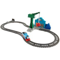 Fisher-Price Thomas and Friends Trackmaster Demolition At The Docks Playset Popular Hobbies, Standard Gauge, Thomas The Train, Model Train Layouts, Thomas And Friends, Train Set, Model Trains, Fisher Price, Toys