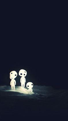 Kodama - Mononoke hime ~~~~~ video game inspiration