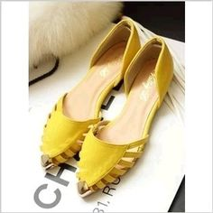 2013 Summer Sandals For Women Fashion Elegant Candy Clor Pointed Hollow flat shoes 2013 women T rivet flats lady metal shoes $7.79 - 10.99