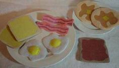 Felt Breakfast - in the hoop embroidery designs machine embroidery ideas