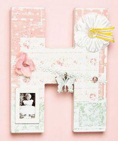 Embellished Wall Letter