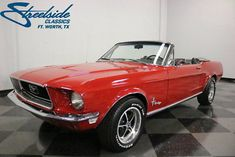 eBay: 1968 Ford Mustang Convertible BEAUTIFUL & FRESHLY RESTORED! 302 V8, AUTO, PS, FR DISCS, SAME OWNER LAST 20 YRS #fordmustang #ford
