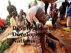Developed versus Developing Nations - what's the difference? This powerpoint defines the terms developed nation and developing nation, and then explains different factors that can be used to determine a nation's status, including infant mortality rate, literacy rate, GDP per capita, economic development levels, life expectancy, technology access, and more.