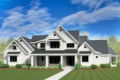 Luxurious 6 Bed House Plan With 3 Levels Of Living - 290008IY thumb - 01