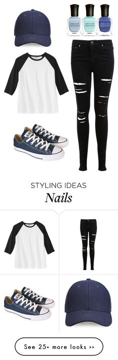 """Tomboy"" by cinda03 on Polyvore featuring Miss Selfridge, Converse, Whistles and Deborah Lippmann"