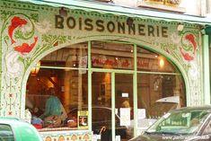 """Ancienne enseigne du Restaurant """"Fish La Boissonnerie"""" 69, rue de Seine - Quartier Saint-Germain (VI Arrondissement)"""