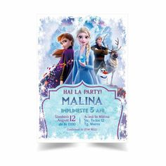 Frozen, Cover, Party, Parties