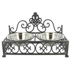 Metal Dual Pet Feeder - Hobby Lobby