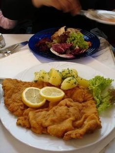 Wiener Schnitzel. If I could I'd eat this every day.