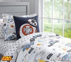Our new Star Wars bedding is here! Click to shop our exclusive collection for you little Jedi. #MyLittleJedi