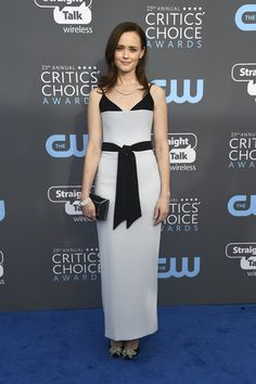 Alexis Bledel in Rasario - The Most Daring Dresses at the 2018 Critics' Choice Awards - Photos
