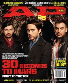 AP 260 // March 2010 // 30 Seconds to Mars