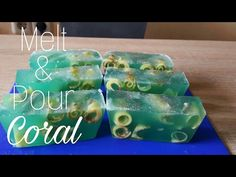 Cum Sa Faci Sapun 100% Natural | Coral Marine - YouTube Handicraft Ideas, Soap Making, Home Remedies, Coral, Candles, Homemade, Nature, How To Make, Crafts
