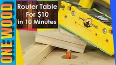 what do I need to build a wooden router - YouTube