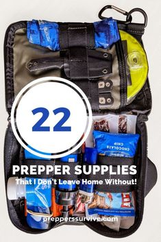 22 Prepper Supplies That I Don't Leave Home Without - Preppers Survive Survival List, Survival Prepping, Medicated Lip Balm, Prepper Supplies, 72 Hour Kits, Emergency Preparedness Kit, Sports Headbands, Rain Poncho, Urban Survival