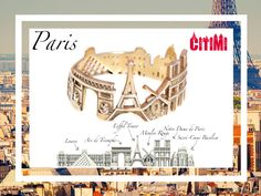 Paris Love Transformed into Jewelry
