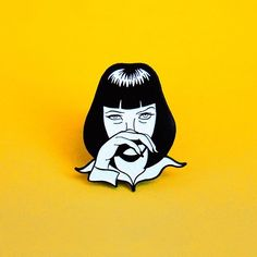 Pin from @nachoscratcho.  Available now!  Shop link in his bio. Check out patches pins and more in his store now.  #nachoscratcho #dontbeasquare #pulpfiction #tees #tshirt #patchgame #movies #cultclassic #pin #pins #lapelpin #lapelpins #enamelpin #enamelpins #pinsofig #pinstagram #hatpin #hatpins #pingame #softenamel #hardenamel #patchgame #IG
