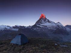 6 lat w górach fotografując namiot !
