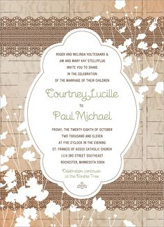 1000+ images about Wedding renewal invitations on ...