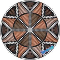 무료도안) 모칠라 원형 패턴 모음 30+ / 옆면 패턴 링크 /모칠라백을 만들어 보자 : 네이버 블로그