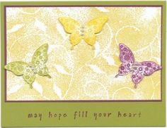 5 Words for Hope! by Soozie4Him - Cards and Paper Crafts at Splitcoaststampers