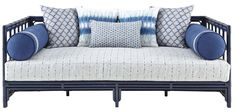 Buy HICKS DAY BED, SANTORINI by Curated Kravet - Made-to-Order designer Furniture from Dering Hall's collection of Transitional Seating