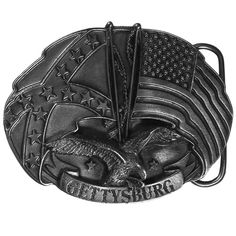"""Checkout our #LicensedGear products FREE SHIPPING + 10% OFF Coupon Code """"Official"""" Gettysburg Antiqued Belt Buckle - Officially licensed Siskiyou Originals product Fully cast, metal buckle    - Price: $20.00. Buy now at https://officiallylicensedgear.com/gettysburg-antiqued-belt-buckle-g43"""