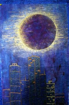 Lunar Eclipse by Barbara Harms