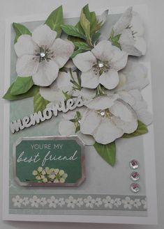 "Morning Dew Blue Flowers KAISERCRAFT Scrapbooking 6.5/"" Paper Pad"