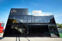 Team Motorhome Mercedes Petronas