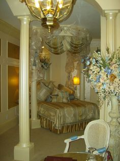 Grand Bridal Suite at the Anniversary Inn in SLC Utah.... We already have it booked!