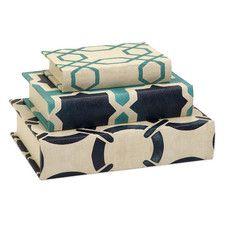Hadley 3 Piece Book Box Set (Set of 3)