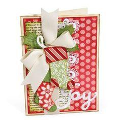 Joy Stockings Card