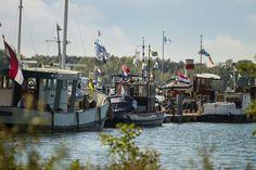 Bootjes op de Maas, Land van Cuijk, Grave Landing