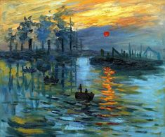 "ART AT SUNRISE ""Impression Sunrise"" Claude Monet"