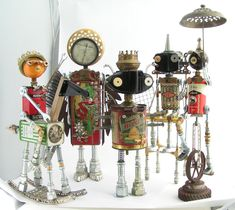 Fobots for the i.d.e.a. Museum