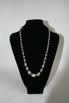 Womans Necklace Vintage Style Fashion Designer Color Shining Silver Festival