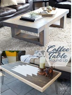 DIY Coffee Table Round-Up – HandmadeHaven