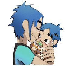 """rancidpepper: """"little shit gave 2d the worst headaches with all her crying but he still loved her """""""