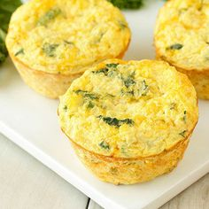 Hungry Girl Lisa's Favorite Recipes of 2017 So Far: Kale & Cheddar Egg Bakes